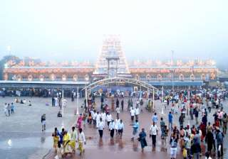 anti telangana stir hits lord balaji yatra -...
