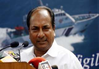 army has freedom to respond on loc antony - India...