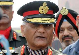 army chief declines to comment on his date of...