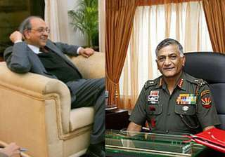 army chief s age row was settled 2 years ago says...