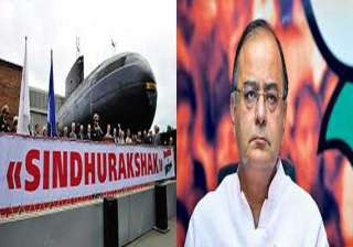arun jaitley to visit western naval command today...