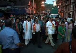 bjp hits villages for its poll campaign in goa -...