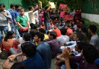 bms students protest over uncertainty on fate of...