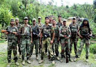 bsf stages one minute combat drill - India TV