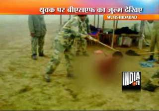 bsf suspends 8 personnel after torture video...