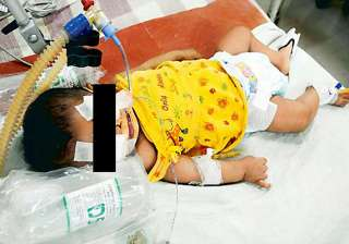 baby afreen still critical - India TV