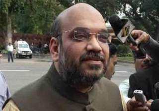 ban entry of amit shah into up demands bsp leader...