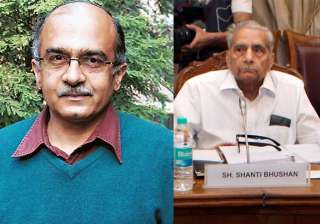 shanti bhushan says corrupt politicians are...
