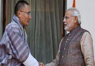 bhutan remains a priority for india modi - India...