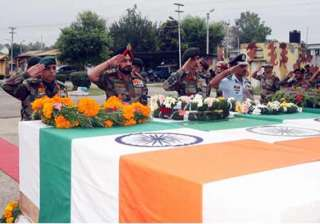 bihar regiment soldier cremated with full state...