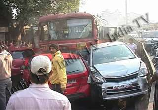 blow by blow account of how pune bus driver went...