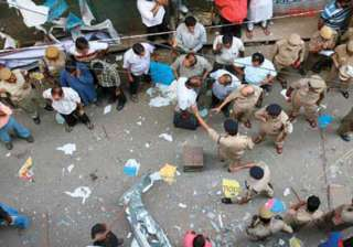 crude box bomb blast in kolkata s chandni chowk...