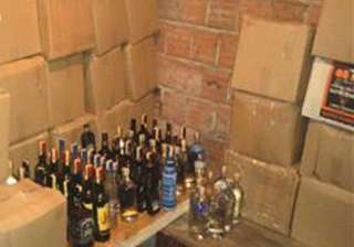 bootlegger held with 300 cartons of illicit...