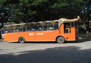 buses to tirumala stopped for first time in four...