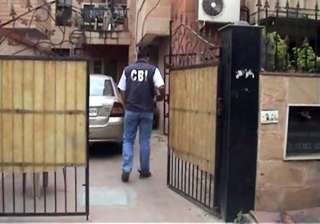 cbi searches former army officers houses - India...