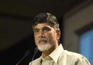 chandrababu naidu appointed as first cm of new...