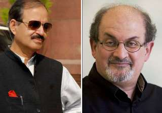 congress indirectly hints at rushdie being...