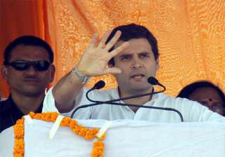 congress works for aam aadmi claims rahul gandhi...
