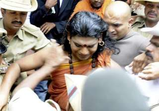 nithyananda re arrested sent to one day judicial...