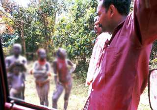 controversy over video footage of tribals dance...