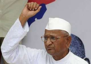 cyberspace abuzz with support for hazare - India...