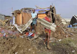 cyclone phailin leaves trail of destruction in...