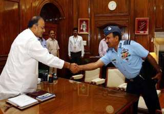 defence minister briefed on iaf s operational...