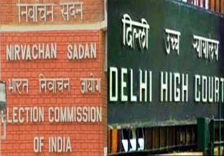 delhi hc notice to poll panel on plea for...