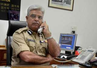 delhi police chief holds independence day...