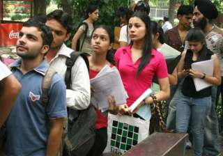 delhi university s first cut off list to be...