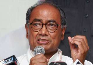 digvijay rubbishes reports of quitting as up poll...