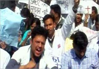 doctors in dehradun go on strike to express...