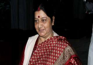 don t waste voting for aap sushma swaraj tells...