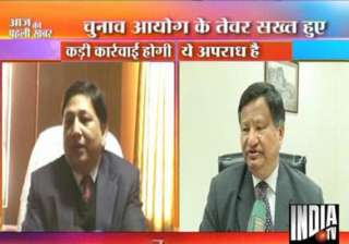 ec cracks the whip after india tv sting operation...