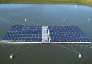 first indian floating solar power station to be...