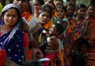 nearly 75 per cent vote in first phase of bengal...