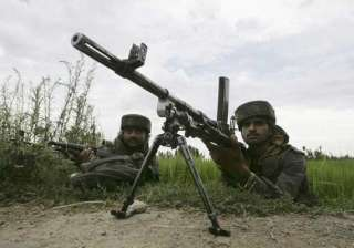 five hm militants killed in encounter with...