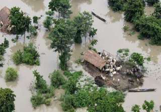 flash flood hits 4 districts of assam - India TV