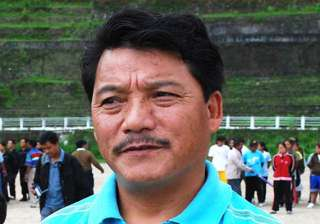 gjm chief bimal gurung campaigns for bjp...