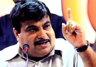 gadkari attacks delhi govt on corruption - India...