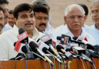 gadkari s pilot arrested with cartridge released...