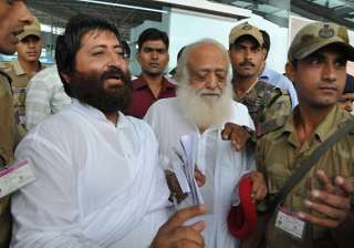 hc reserves order on pleas by asaram his son...
