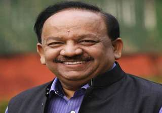 harsh vardhan asks doctors to achieve the targets...