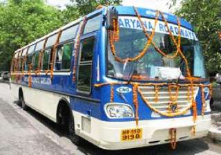haryana to connect state towns via volvo merc bus...