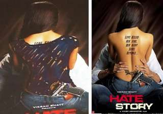 hate story bare back painted blue in kolkata...