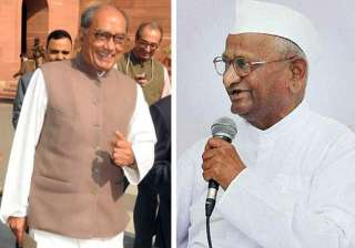 hazare s associates are close to bjp says...
