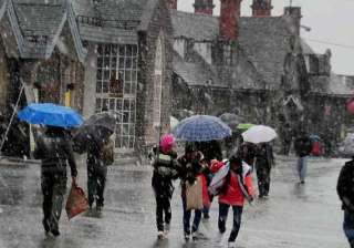 heavy showers in parts of himachal - India TV