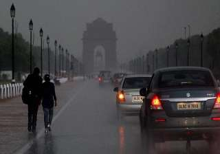heavy showers lash national capital - India TV