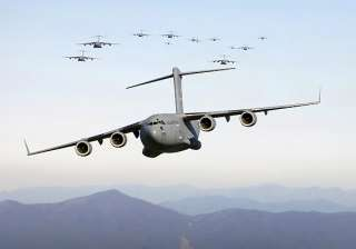 iaf to induct c 17 heavy lift transport aircraft...