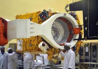 india s mars satellite mated with rocket - India...